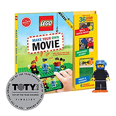 Klutz Lego Make Your Own Movie Activity Kit: Klutz: Toys & Games