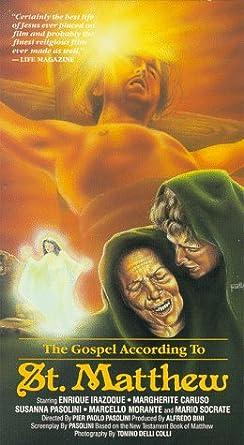 The Gospel According to Saint Matthew VHS