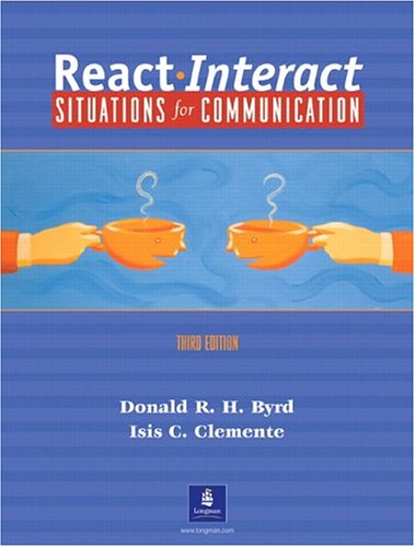 React Interact:  Situations for Communication, Third Edition