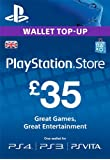 PlayStation PSN Card 35 GBP Wallet Top Up [PSN Download Code - UK account]