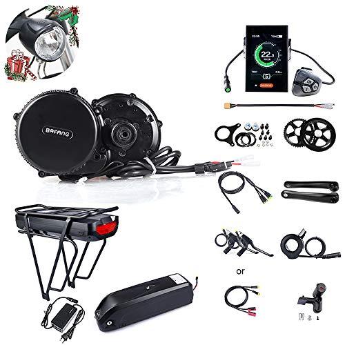 Mountain Bike Mid-Drive Motor Road Bicicleta eléctrica Mid Motor Bafang BBS02B 48V 750W (MM G340.750) Juego de…