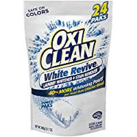 2-Pack of 24 Ct OxiClean White Revive Laundry Stain Remover Power Paks