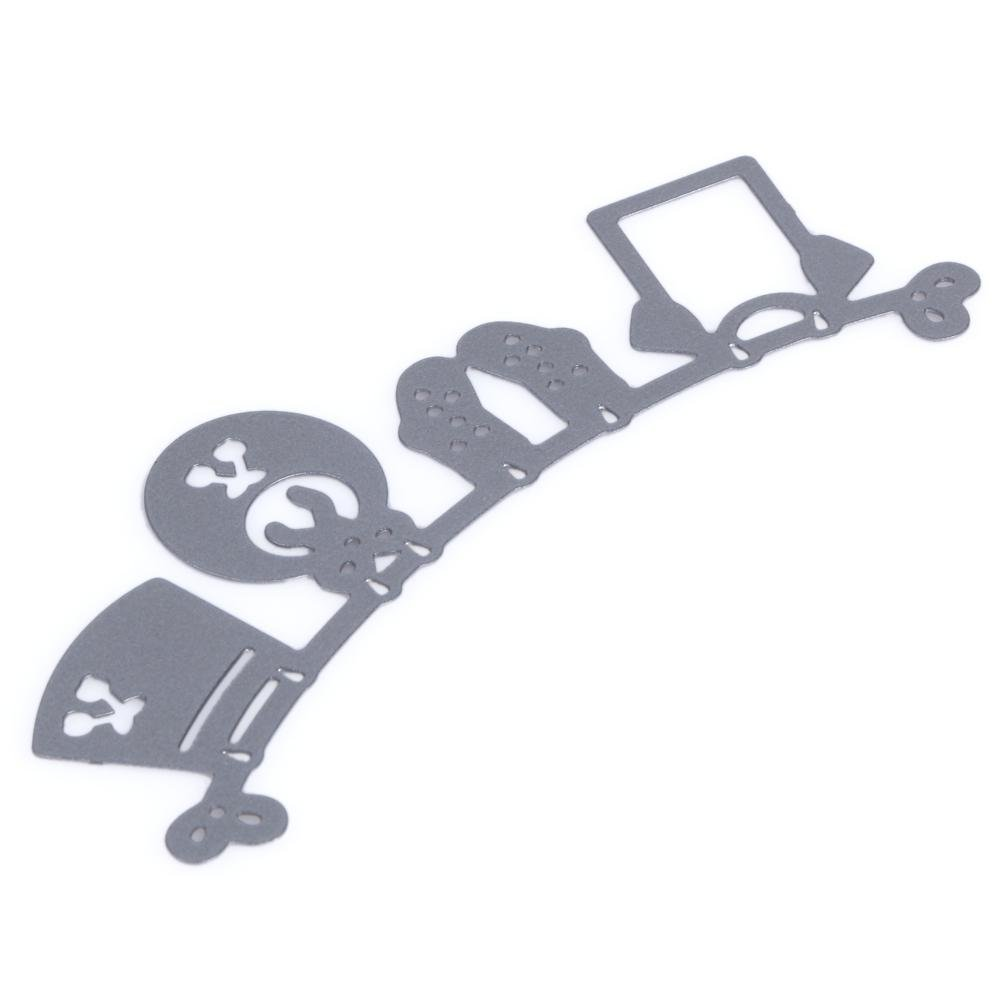 Plantillas de troquelado de metal para manualidades decoraci/ón troquelado para beb/é