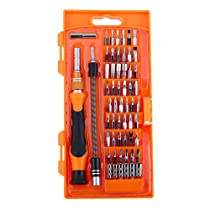 GHB 58 in 1 Schraubendreher Set Werkzeugset Schraubenzieher mit 54 Bits und Werkzeugkoffer für Handy Tablet PC Macbook Uhr usw
