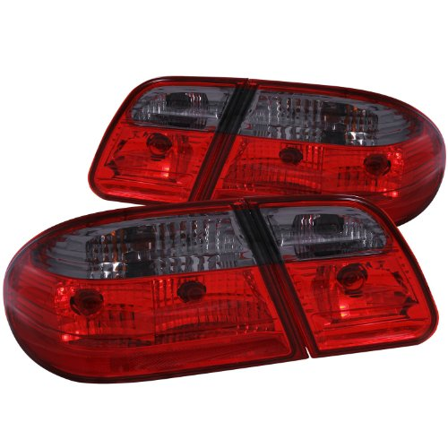 AnzoUSA 221207 Red/Smoke G2 Taillight for Mercedes Benz E Class - (Sold in Pairs)