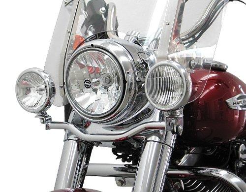 Barre support de phare additionnel Fehling Honda Shadow VT 1100 C2 95-00