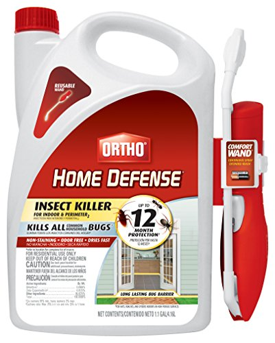 Ortho 0220910 Wand Home Defense Insect Killer for Indoor & Perimeter2 with Comfort, 1.1 GAL (Best Insect Spray For Spiders)