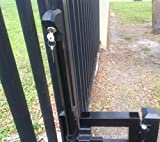 Mighty Mag Child Pool Safety Gate Latch Top Pull Black