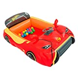 Bestway 93404E Hot Wheels Ball Pit, Red