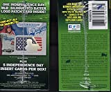 2017 Topps Baseball Series #2 Unopened Blaster Box with 10 Packs and One Retail Exclusive Independence Day Silhouetted Batter Logo Patch Card