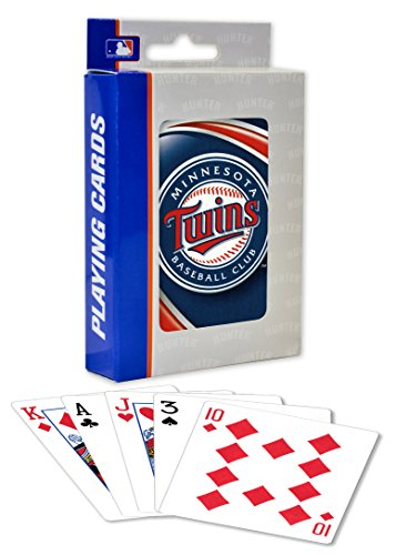 (MasterPieces MLB Minnesota Twins Playing Cards )