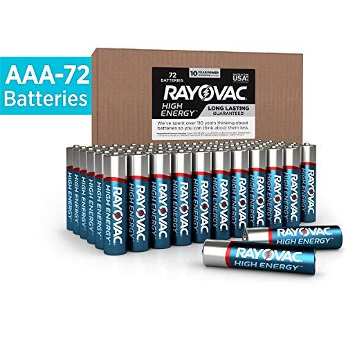 Rayovac AAA Batteries, Alkaline Triple A Batteries (72 Battery Count) ()