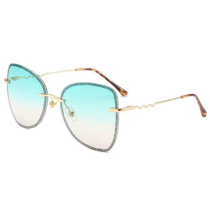 Mujer Gafas de Sol Anti-UV Parasol protección Ocular Gafas ...