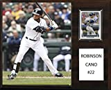 MLB Seattle Mariners Robinson Cano Player Plaque, 12 x 15-Inch