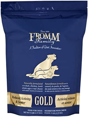 Dog Food: Fromm Family Gold Reduced Activity