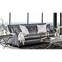Furniture of America SM2252-SF Massimo Furniture, Shiny Black