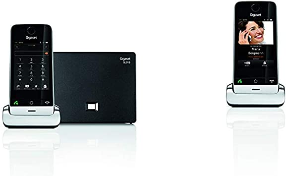Gigaset SL910. Teléfono inalámbrico con Pantalla táctil; Manos Libres; Bluetooth. + SI-SL910H: Amazon.es: Electrónica