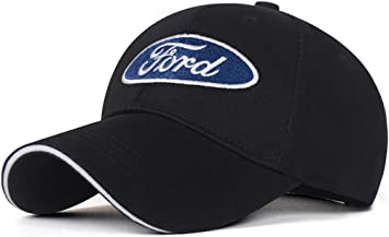 Unisex Baseball Cap with Embroidered Mustang Car Logo