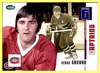 2003-04 Parkhurst Original Six MONTREAL CANADIENS #80 Serge Savard
