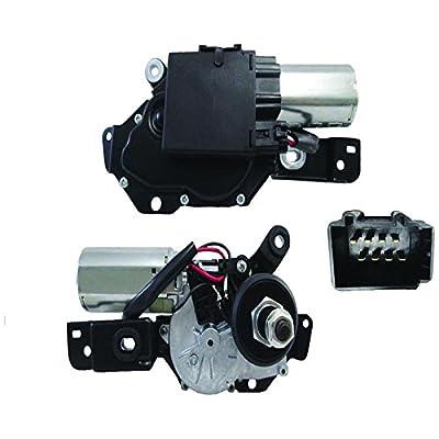 New Rear Wiper Motor W/Pulseboard Module For 2006 2007 2008 2009 2010 Ford Explorer & Mercury Mountaineer 6L2Z 17508-AB, 7L2Z 17508-AA, 40-2062
