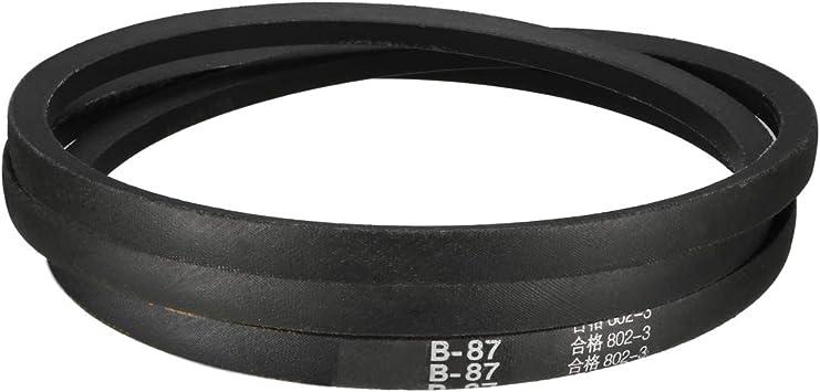 uxcell/® A-48 V Belt Machine Transmission Rubber,Black Replacement Drive Belt.