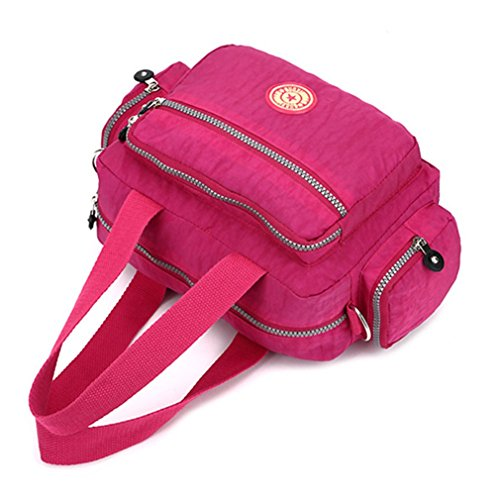 Bag Girls Handbags Handbag Colorful body Nylon Lightweight Bag Cross Waterproof Flowers for Washable Casual Shoulder A vYf7gwSwq