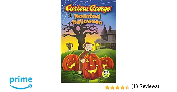 amazoncom curious george haunted halloween cgtv reader 9780544320796 h a rey books - Curious George Halloween Games