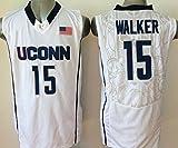 Men's Uconn Huskies NO.15 Walker White NCAA Basketball Jerseys