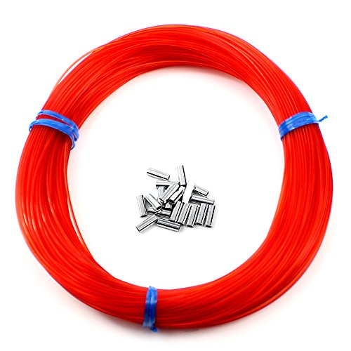 Momoi Outrigger Line Kit | 100 Yards | Includes Crimp Sleeves (Red)