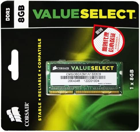 16/Gb Dual Channel Kit PC3/–10600S pour Lenovo ThinkPad T520/DDR3/1333/MHz 2/x 8/Go So DIMM m/émoire RAM