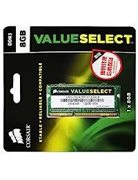Corsair memoria portátil de 8 GB (1 x 8GB) DDR3 1333 MHz (PC3 10666)