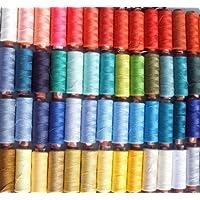 100 bobinas de hilo de coser grandes surtidas