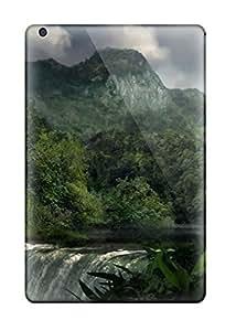 Premium Durable Waterfall Fashion Tpu Ipad Mini/mini 2 Protective Case Cover