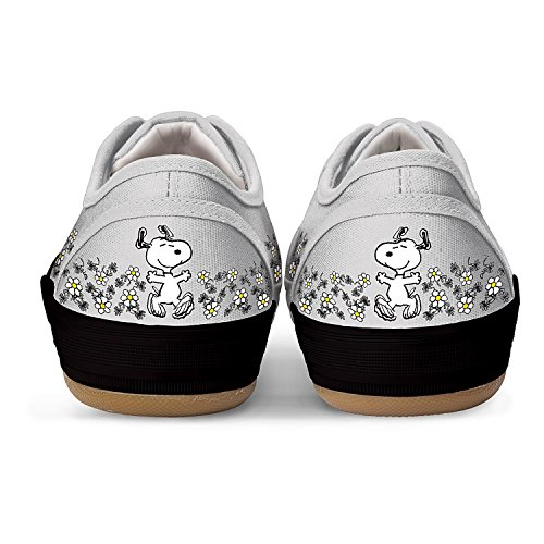 PEANUTS Happiness Is Friendship Women's Shoes With PEANUTS Characters Snoopy And Woodstock by The Bradford Exchange Multicoloured cheap sale find great outlet low cost cheap perfect outlet store for sale Nu2Fmj0