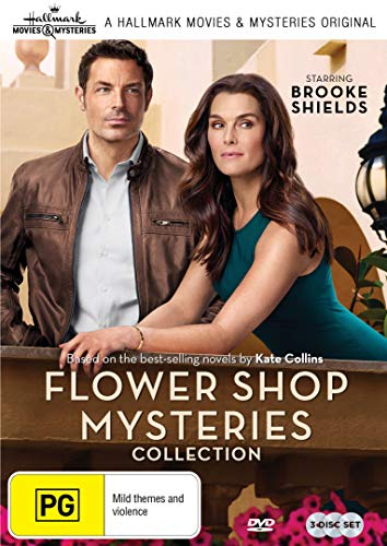 Flower Shop Mysteries - 3 Film Collection (Mum's The Word/Snipped in the Bud/Dearly Depotted) -