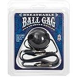 Doc Johnson Breathable Ball Gag with Leather Collar