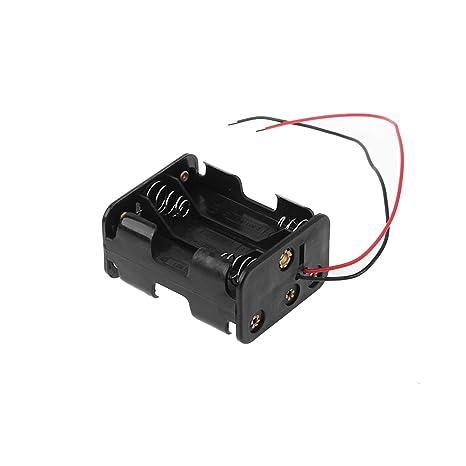 Caja De La Bateria Titular, Titular De Almacenamiento 6AA 2A ...