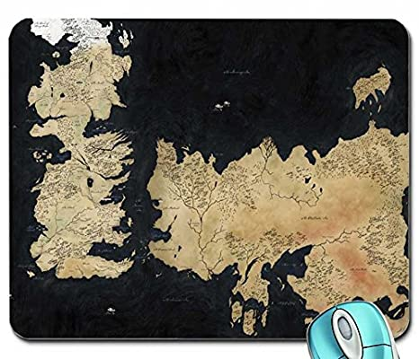 Entertainment fantasy art books maps game of thrones world map a entertainment fantasy art books maps game of thrones world map a song of ice and fire tv series hbo george r r m mouse pad computer mousepad gumiabroncs Gallery