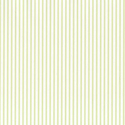SY33950 Galerie Stripes 2 Green White Narrow Striped Wallpaper