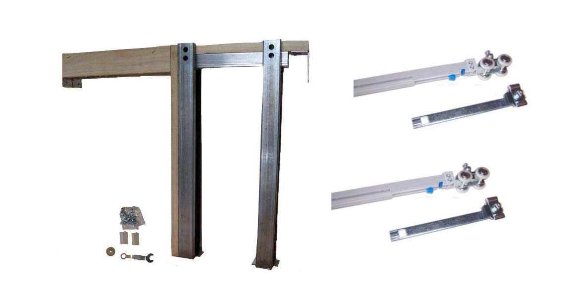 2450 Series Single Pocket Frame Kit with Soft Close & Soft Open (1, 30'' x 80'')