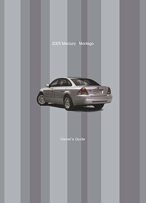 amazon com bishko automotive literature 2005 mercury montego owners rh amazon com 2005 mercury montego service manual 2005 mercury montego owner's manual