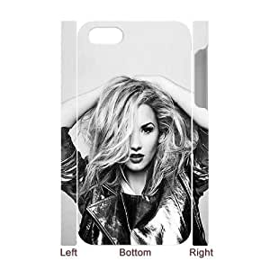 WJHSSB Diy hard Case Demi Lovato customized 3D case For Iphone 4/4s