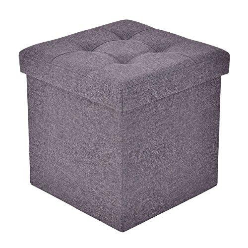 Amazon Com Giantex Folding Storage Cube Ottoman Seat