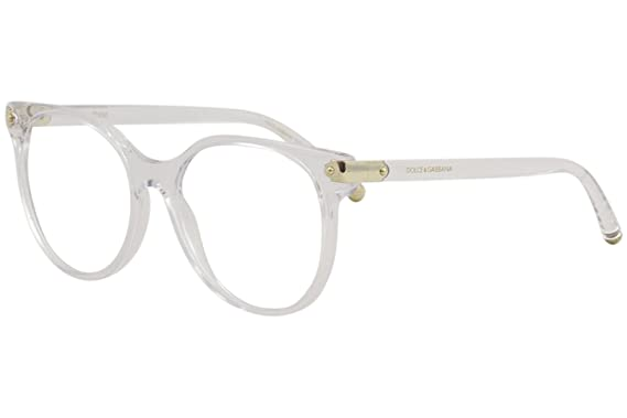 7579ac5e83 Dolce   Gabbana Eyeglasses D G DG5032 DG 5032 3133 Crystal Optical Frame  53mm
