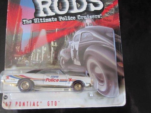 67 Pontiac GTO Atlanta ,GA. Police 2000 Cop Rods Series 2 Hot Wheels