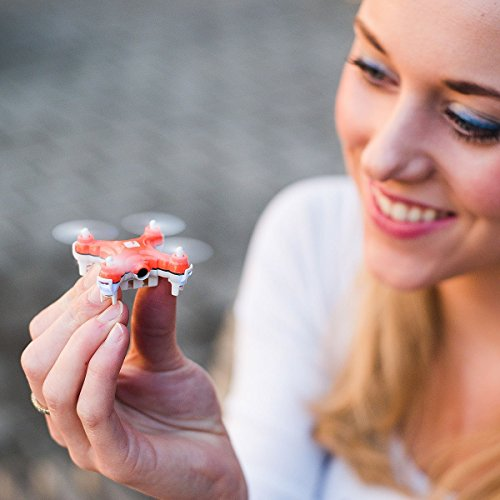 SKEYE Nano Drone with Camera - Remote Controlled - Mini Quadcopter - One Year Warranty
