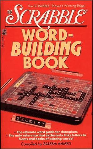 The Scrabble Word-Building Book: Amazon.es: Ahmed, Saleem: Libros en idiomas extranjeros