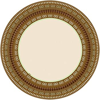 7-Inch Signature Collection 16-Pack Fall Turkey Round Paper Plates Hanna K