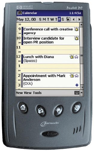 Hewlett Packard Jornada 540 Color Pocket PC by HP