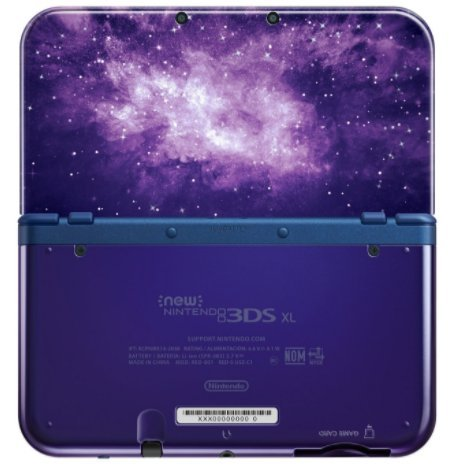 Nintendo New 3DS XL - Galaxy Style (with AC Adapter) by Nintendο